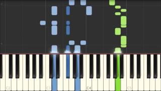 Grand March - AIDA - Giuseppe Verdi [Piano Tutorial] (Synthesia)
