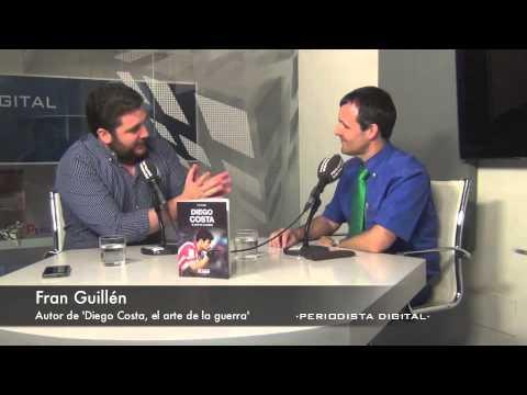 Fran Guillén, autor de 'Diego Costa, el arte de la guerra'. 10-6-2014