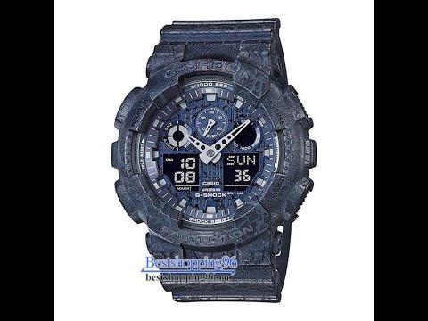 Видео обзор наручных часов CASIO GA-100CG-2A