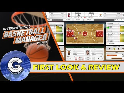 BRAND NEW BASKETBALL GAME | International Basketball Manager | First Look & Review