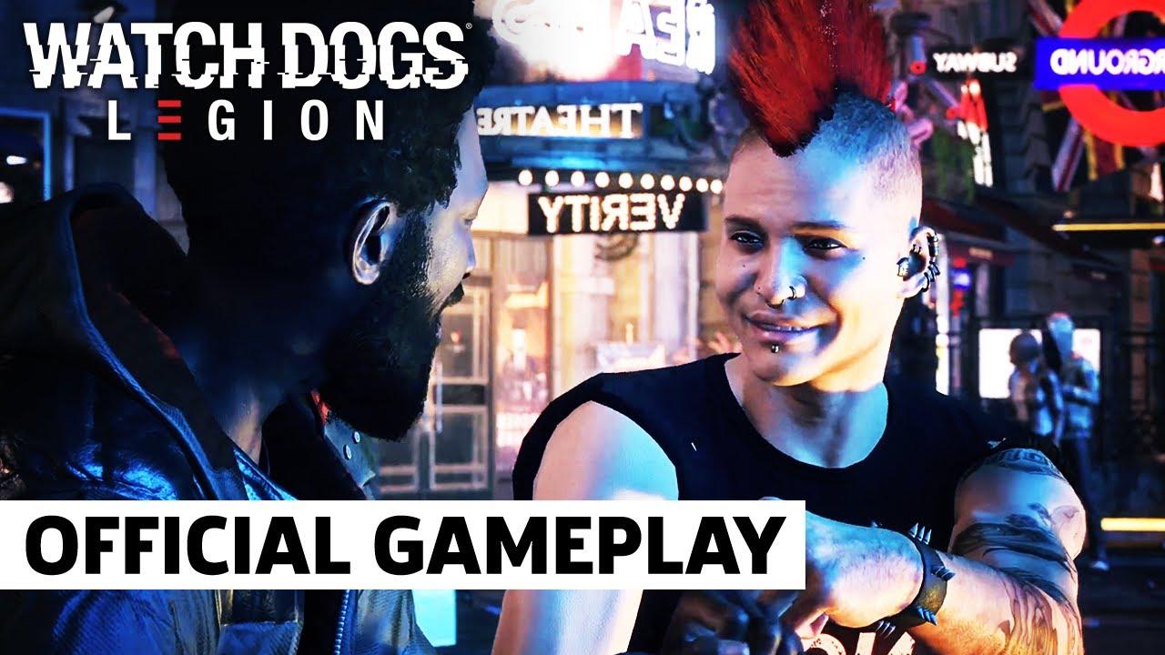 Геймплейный трейлер игры Watch Dogs: Legion