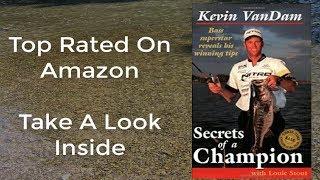 Bass Fishing Books-Secrets Of A Champion-Gifts For Fishermen