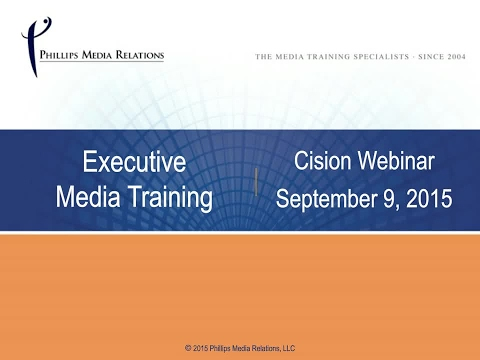 Media Training: How to Prep Execs for the Big Interview - YouTube