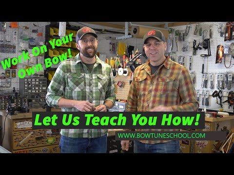 Be the Ultimate Archery Technician with Bow Tune School! - YouTube