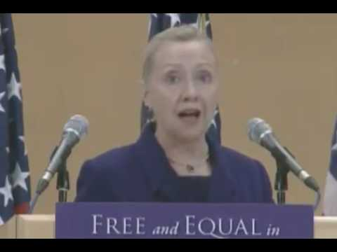 Clinton Says Failing To Call Out Foreign Countries With Poor Human Rights Enables More Abuse