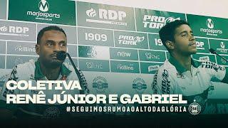 Coletiva apresentação - Renê Júnior e Gabriel
