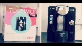 BOSCH Tassimo Charmy T55 [TAS5542GB] - Unboxing [HD]