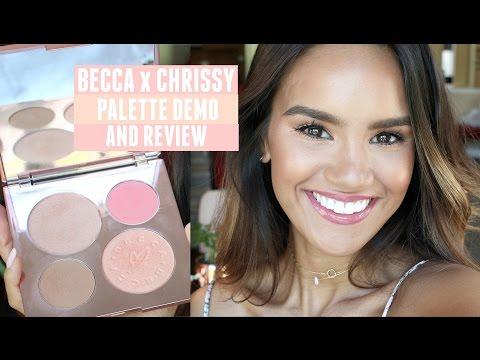 Becca x Chrissy Teigen Glow Face Palette by BECCA #4