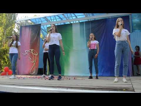 ,,Танцы под фонарём ,,  группа ,,Частный Визит,, рук О Костенко