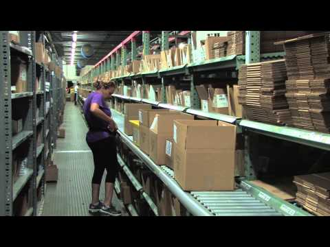 Warehouse Tour of Cengage Learning Distribution Center