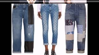 Модные заплатки на джинсы. Модная одежда 2015.