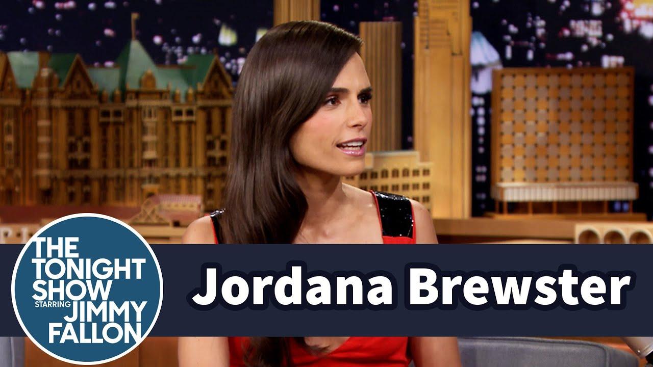 Jordana Brewster Makes a Funny Face thumbnail