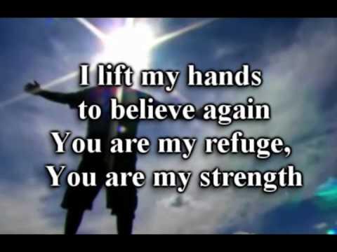 I Lift My Hands-Chris Tomlin-worship video w lyrics.