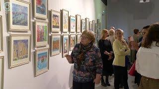 В Краеведческом музее показали художественные работы пациентов Городского гематологического центра
