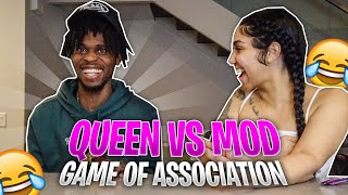 QUEEN NAIJA VS MOD DA GOD IN A GAME OF SONG ASSOCIATION !! LOSER HAS TO....