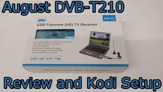 August DVB-T210 Review and Kodi Setup