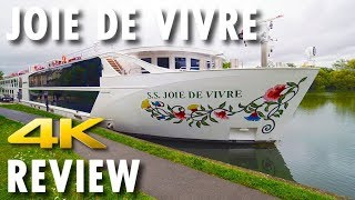 Joie de Vivre Tour & Review ~ Uniworld Boutique River Cruise Collection ~ Review [4K Ultra HD]