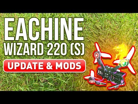 eachine-wizard-220s--does-it-suck--change-receiver-update-vtx-replace-arms
