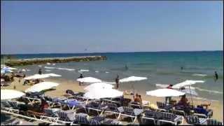 preview picture of video 'Recorrido por las playas de Sitges'