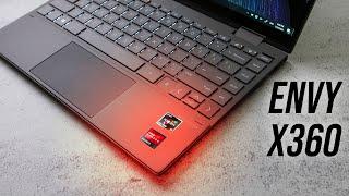"""HP Envy x360 Review - 6 Core Ryzen 13""""!"""