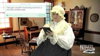 Tweets of the Rich & Famous: Martha Washington #2