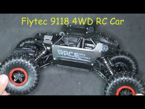 Flytec 9118 4WD Uzaktan Kumandalı Araba İnceleme