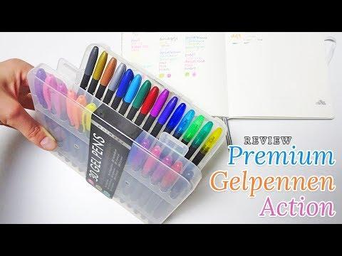 Review premium gelpennen van Action 🖍 | Nouk-san