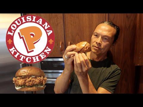 Iron Chef Dad Turns Popeyes Chicken Sandwich Gourmet