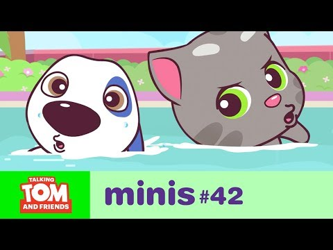 Download Talking Tom and Friends Minis -  Swimming Pool Challenge (Episode 42) HD Mp4 3GP Video and MP3