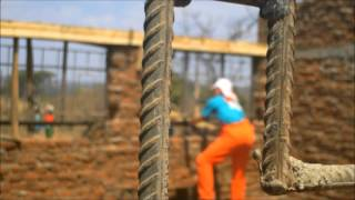 preview picture of video 'De Bouw - World Servants Zuidlaren - Zambia 2012'