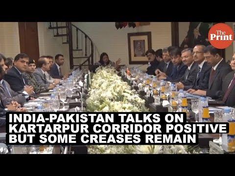 India-Pakistan talks on Kartarpur corridor positive, but some creases remain