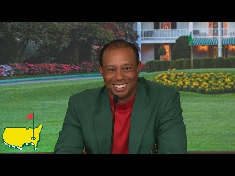 Tiger Woods Winning Interview