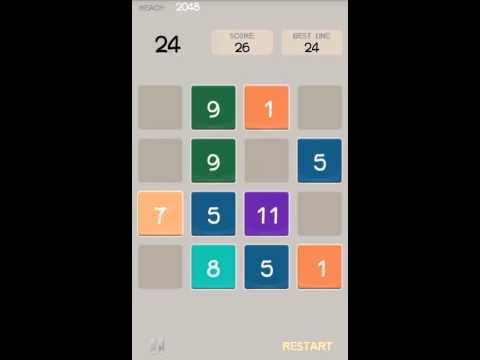 Video of 2048 New Challenge