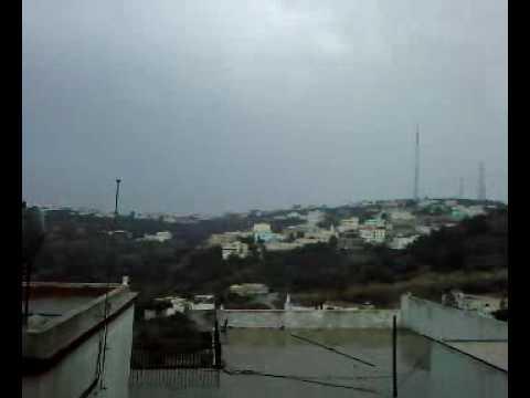 أمطار على قرية العباس