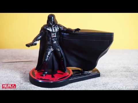 BANDAI 黑武士牙籤光劍收納盒 (Darth Vader ToothSaber) 開箱