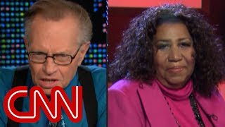 Larry King remembers Aretha Franklin: Her music speaks for itself