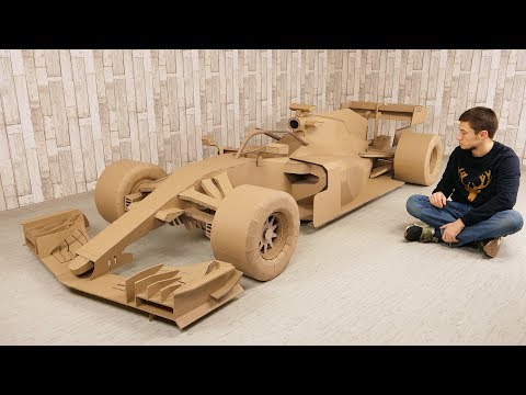 Image: In 500 hours you can make an F1 car out of cardboard