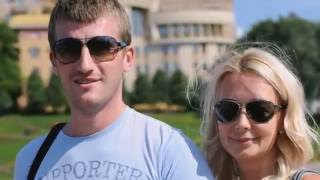Видеомонтаж - поздравление для мужа с розовой свадьбой