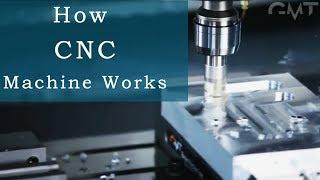 How CNC Machine Works