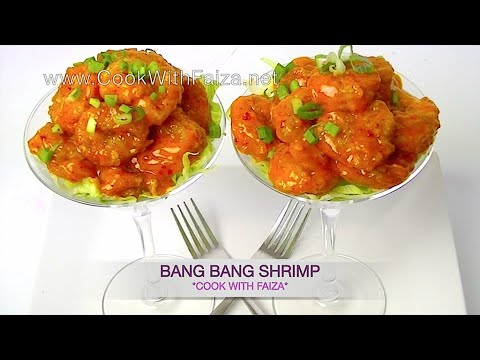 BANG BANG SHRIMP ( COPYCAT ) *COOK WITH FAIZA*