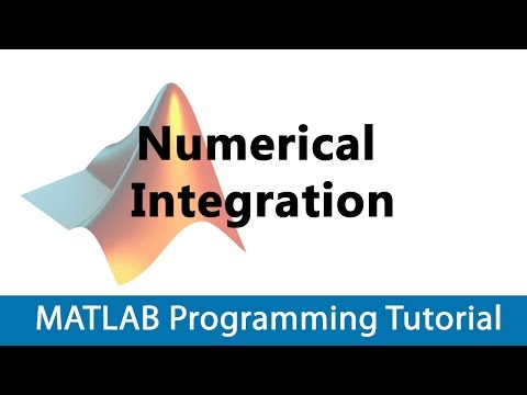 MATLAB Programming Tutorial #14 Numerical Integration