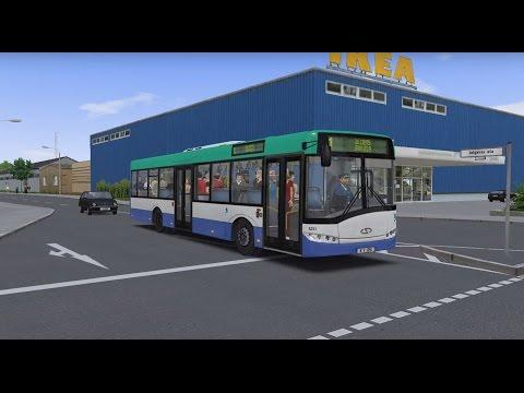 OMSI 2  Map Bērzpils 0 4 (alfa), Line 1, Solaris Urbino 12