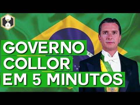 Brasil: Governo Collor em 5 minutos!