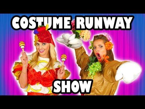 Kids Costume Runway Challenge Jenn vs Lindsey vs Margeaux. Totally TV