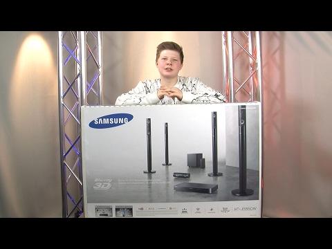 Samsung Home Entertainment System J5550 - Suround-Sound-System - Unboxing/Aufbau