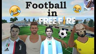 ronaldo and messi in free fire-كرة القدم في فري فاير