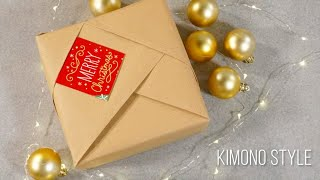 Kimono Style Gift Wrapping By Hallmark