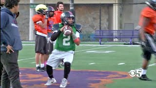 Galileo Academy Lions Pin High Hopes on Short QB