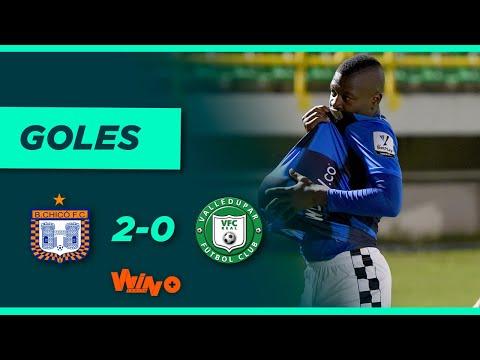 All Goals trận đấu giữa Boyaco Chico và Valledupar