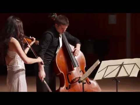Penderecki Duo Concertante for Violin and Bass